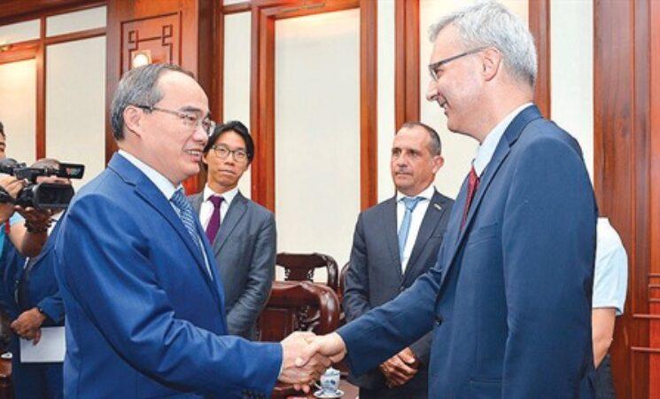 Hô Chi Minh-Ville et France renforcent leur coopération