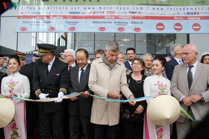 Việt Nam là khách mời danh dự tại hội chợ quốc tế Metz, (Pháp) 2019