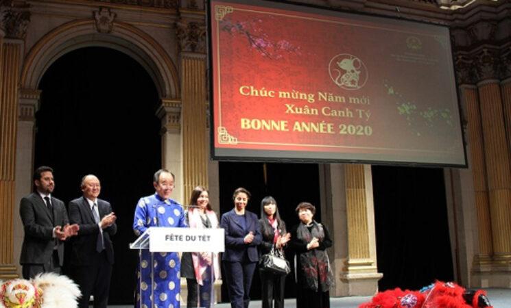 Kỷ niệm 90 năm Ngày thành lập Đảng và mừng Xuân Canh Tý tại Pháp