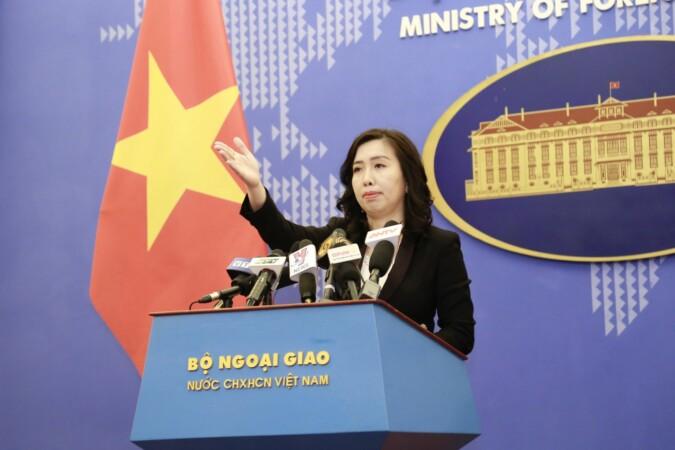 Việt Nam lên tiếng về việc gửi công hàm phản đối Trung Quốc lên Liên hợp quốc