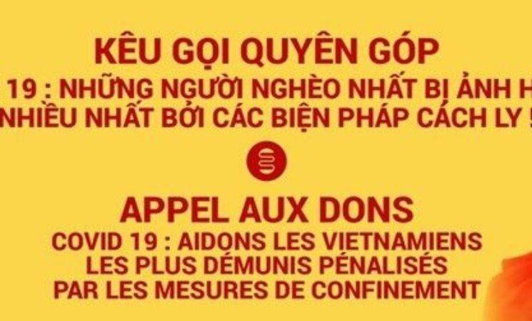 Người Việt tại Pháp tiếp tục ủng hộ Việt Nam chống dịch Covid-19